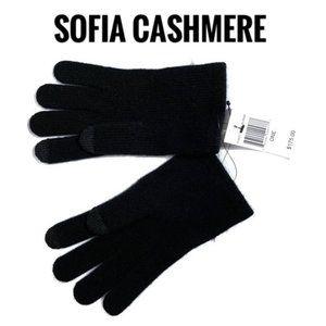 Sofia Cashmere Touch Screen 100% Cashmere Gloves